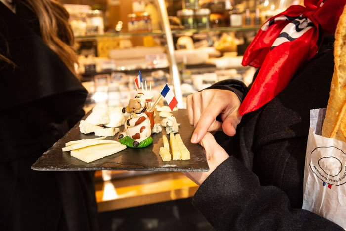 French cheese, cheese tasting