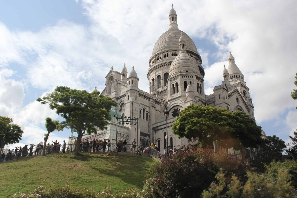 The Sacré-Coeur Basilica Paris France